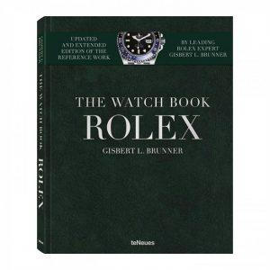 rolex boek met groene cover en zilveren bedrukking