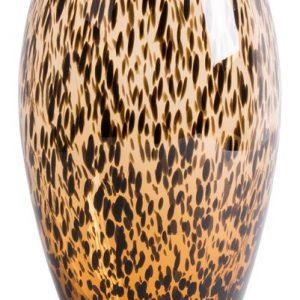 ovaal hoog cheetah bruin vaas