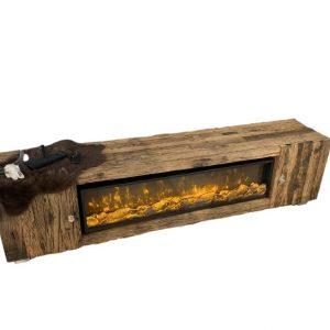 Blocci tv meubel met sfeerhaard sleeperwood