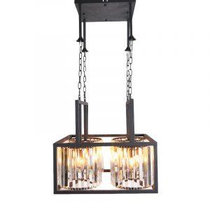 Een luxe hanglamp voor in de woonkamer of voor boven een salontafel, gemaakt van zeer hoogwaardige materialen. Update uw bestaande interieur met de Azamar chandelier, een echt hoogtepunt dat in elke moderne of klassieke inrichtingsstijl kan worden geïntegreerd.