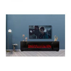 Strak..Trendy.. Stijlvol... Dat is Blocci, onze mooie, complete meubellijn, die in een sieraad in elke moderne woninginrichting zal zijn. De Blocci tv meubel is gemaakt van gehard glas van zwart kleur.